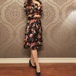 Made in Spain floral print dress